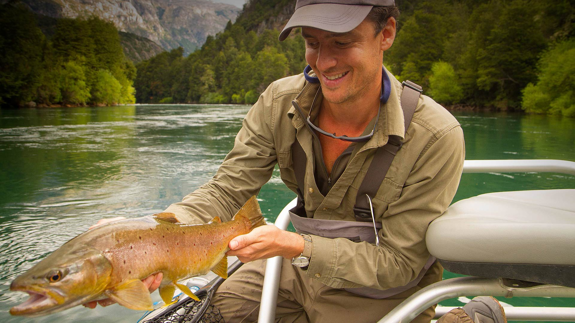 Experience Fishing in Chilean Patagonia.